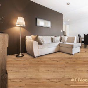 NT Floors Landhausdiele Eiche Country - gebürstet, farblos natur endgeölt - Ambiente