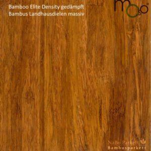 Bambus Landhausdielen massiv Density gedämpft – Moso Elite - geschliffen lackiert oder geölt - NaBo Parkett Bambusboden Leipzig