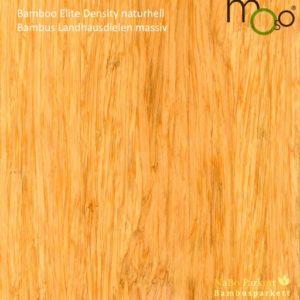 Bambus Landhausdielen massiv Density naturhell – Moso Elite - geschliffen, lackiert oder geölt - NaBo Parkett Bambusboden Leipzig