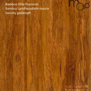 Bamboo Elite Premium Density gedämpft – Moso Bambus Landhausdielen - geschliffen, lackiert mit Klick-System - NaBo Parkett Bambusboden Leipzig