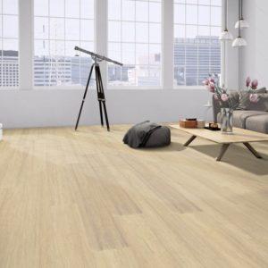 Moso Bamboo Elite Premium - Bambus 3-Schicht Dielen - Densitiy naturhell white - Wohnzimmer