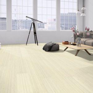 Moso Bamboo Elite Premium - Bambus 3-Schicht Dielen - Hochkantlamelle naturhell white - Wohnzimmer