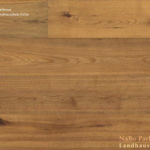 Eiche Antikdiele Bellevue - NaBo Parkett Landhausdielen - geschliffen oder handgehobelt, angeräuchert + natur geölt