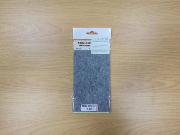 Filzgleiter rechteckig selbstklebend - grau zum Selbstzuschnitt 100x165mm - Möbelgleiter aus Nadelfilz by Naturboden & Türen Fründ Leipzig