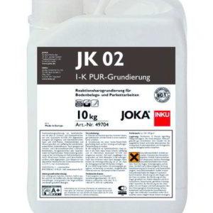 JOKA Reaktionsharz Grundierung JK 02 1K PU - Grundierung für saugende Untergünde, Holzdielen, Span- und OSB-Platten vor Spachtelarbeiten sowie zur Absperrung bis 3CM% - NaBo Parkett Zubehör Leipzig