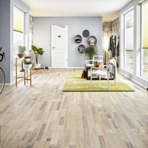JOKA Laminatboden Madison - Vielstab Design Oak sand