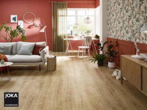 JOKA Laminatboden Madison - 1-Stab Landhausdielen Design Oak cottage