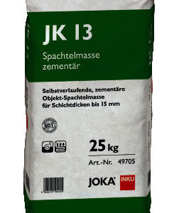 JOKA Spachtelmasse JK 13 - selbstverlaufende Zement Spachtelmasse für Schichtdicken bis 15mm - NaBo Parkett Zubehör Leipzig