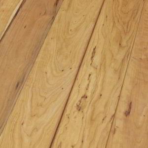 Massivdiele Kirschbaum amerikanisch rustikal - geschliffen, natur geölt - NaBo Parkett Leipzig