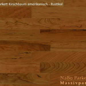 Lamparkett Kirschbaum amerikanisch Rustikal - NaBo Parkett Leipzig