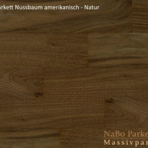 Lamparkett Nussbaum amerikanisch Natur - NaBo Parkett Leipzig