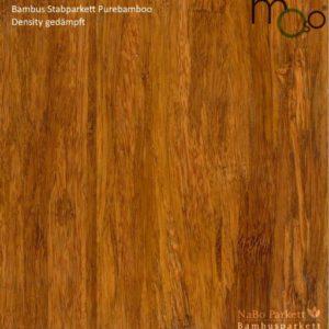 Bambus Stabparkett Density gedämpft – Moso purebamboo - geschliffen, lackiert - NaBo Parkett Bambusboden Leipzig