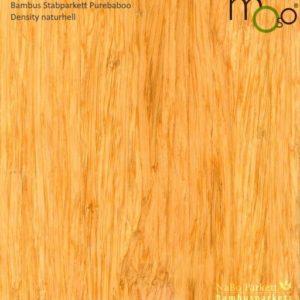 Bambus Stabparkett Density naturhell – Moso purebamboo - geschliffen, lackiert - NaBo Parkett Bambusboden Leipzig