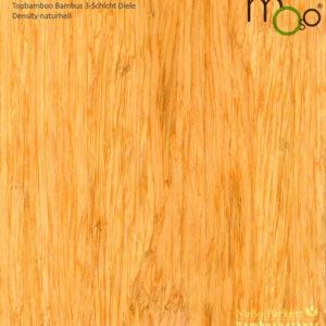 Bambus 3-Schicht Klick Fertigparkett Density naturhell – Moso topbamboo - geschliffen, lackiert - NaBo Parkett Bambusboden Leipzig