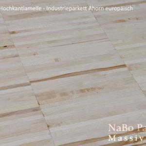 Industrieparkett Ahorn europäisch - Industrie - NaBo Parkett Hochkantlamelle Leipzig