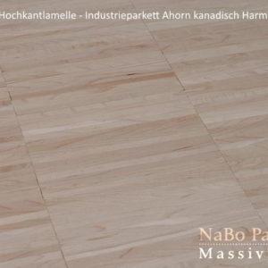 Industrieparkett Ahorn kanadisch - Harmonie - NaBo Parkett Hochkantlamelle Leipzig