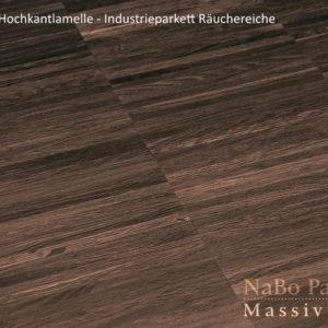 Industrieparkett Räuchereiche - Naturell - NaBo Parkett Hochkantlamelle Leipzig