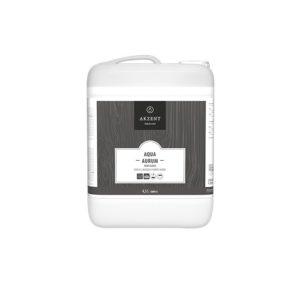 Parkettlack Akzent Aqua Aurum - 2K PU Wasserlack mit Glanzgrad halbmatt - für Wohn- und Objektbereiche