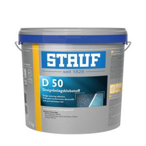 Stauf Designbelagklebstoff D 50 - faserarmierter PVC-Designbelagsklebstoff - NaBo Parkett Leipzig