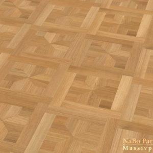 Tafelparkett Eiche London - Sortierung Exquisit + natur geölt - NaBo Parkett Tafelboden