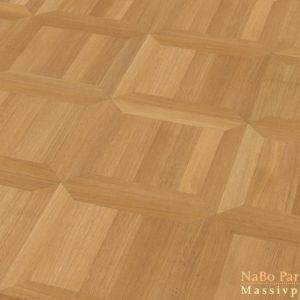 Tafelparkett Eiche Rom - Sortierung Exquisit + natur geölt - NaBo Parkett Tafelboden