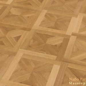 Tafelparkett Eiche Wien - Sortierung Exquisit + natur geölt - NaBo Parkett Tafelboden