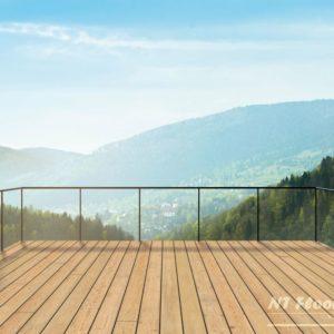 Holz Terrassendiele Lärche sibirisch AB - Ambiente 1