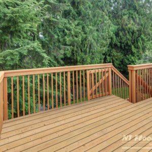 Holz Terrassendiele Lärche sibirisch AB - Ambiente 2