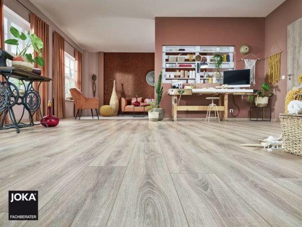 JOKA Laminatboden City - Oak rift grey 4804 - 1-Stab Landhausdiele mit V4 Fase - Ambiente