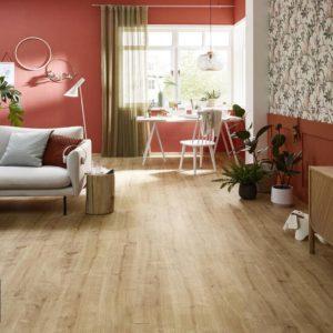 JOKA Laminatboden Manhattan - 1-Stab Landhausdielen Design Oak cottage - Ambiente