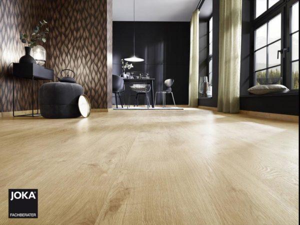 JOKA Laminatboden Metropol - 1-Stab Landhausdielen Design Oak timeless - Ambiente