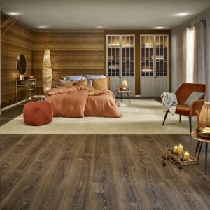JOKA Laminatboden Westside - Oak indiana 9521 - 1-Stab Landhausdiele mit V4 Fase - Ambiente2
