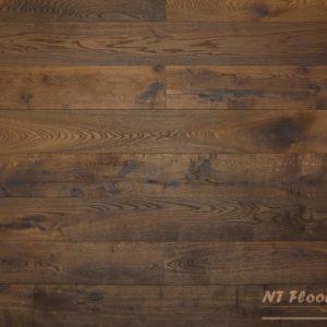 NT Floors Landhausdiele Eiche Classic geräuchert - stark angeräuchert, gebürstet, farblos natur endgeölt