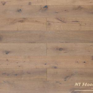 NT Floors Landhausdiele Eiche Country geräuchert - leicht angeräuchert, gebürstet, weiß natur endgeölt
