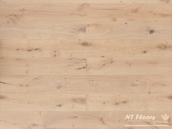 NT Floors Landhausdiele Eiche Country weiß - gebürstet, weiß natur endgeölt