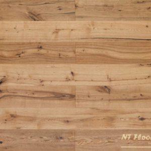 NT Floors Landhausdiele Eiche ROFEN Country - gebürstet oder handgehobelt, leicht gebürstet - farblos natur endgeölt