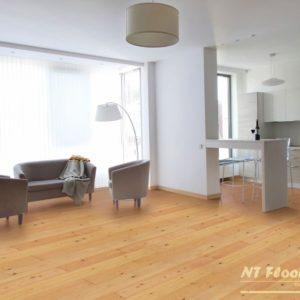 NT Floors Landhausdiele Lärche sibirisch AB - geschliffen oder gebürstet - farblos natur endgeölt - Ambiente