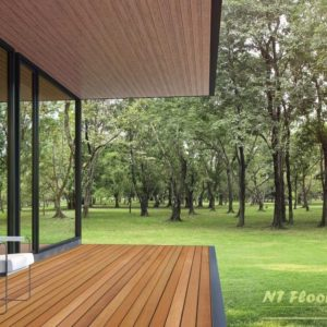 Holz Terrassendiele Garapa PRIME - Ambiente 1