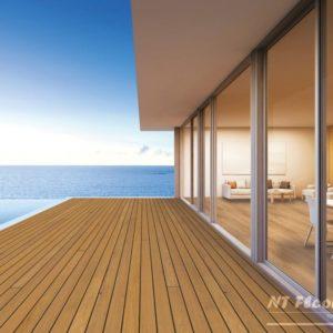 Holz Terrassendiele Garapa PRIME - Ambiente 2