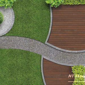 Holz Terrassendiele Ipe PRIME - beidseitig glatt - Ambiente 2