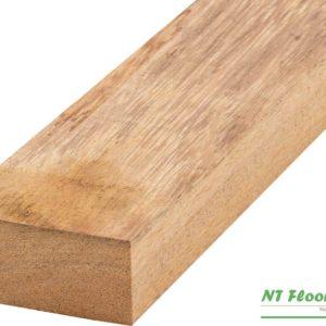 Holz Unterkonstruktion Angelim Pedra für Holzterrassen - 45 x 70 x 2130-6100mm - 4-seitig glatt gehobelt