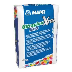 Mapei Spachtelmasse Ultraplan XTRA Eco - zementär - bis 10mm ausgleichen und glätten für hohe Beanspruchung