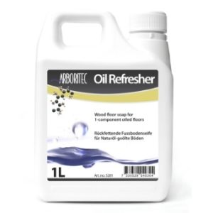 Holzbodenseife Arboritec Oil Refresher - reinigt und pflegt mit Naturöl behandeltes Parkett und Massivholzdielen